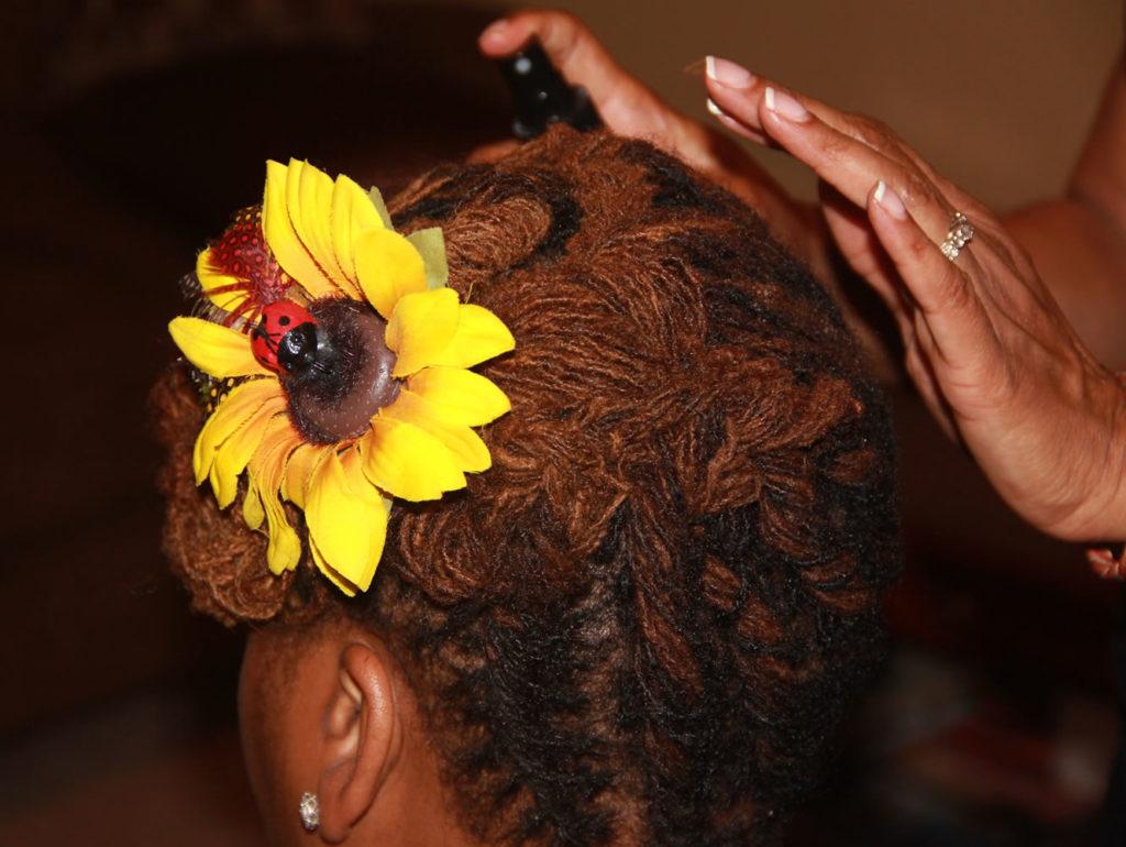 Kia Lewis Natural Hair Style